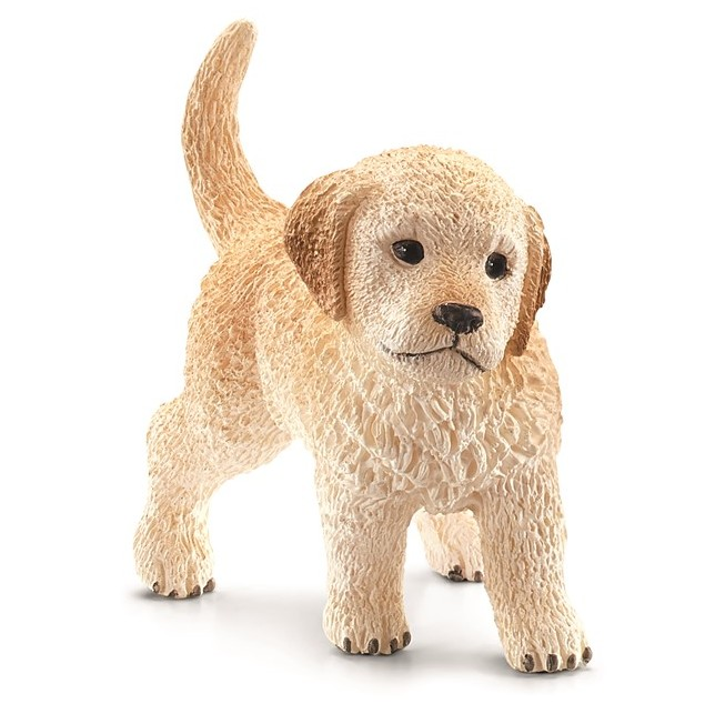 Schleich Golden Retriever hundehvalp
